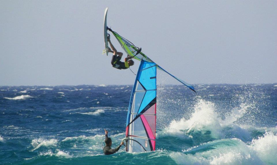 Windsurf à Algajola - 9 Juin 2012