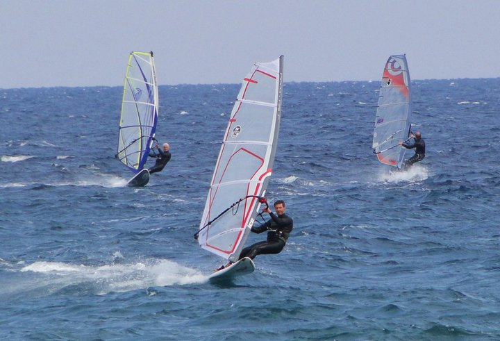 Windsurf à Moriani 15-02-11