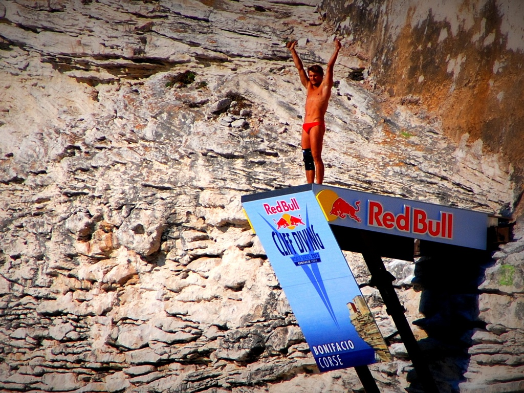 Redbull Cliff Diving 2012 - Bonifacio