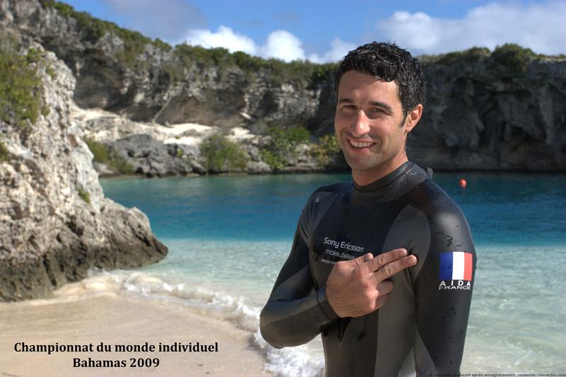 Apnée : Un Corse en équipe de France