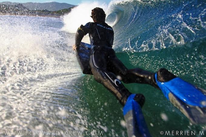 La Corse vue par Mick Merrien et le Forward Bodyboard Krew