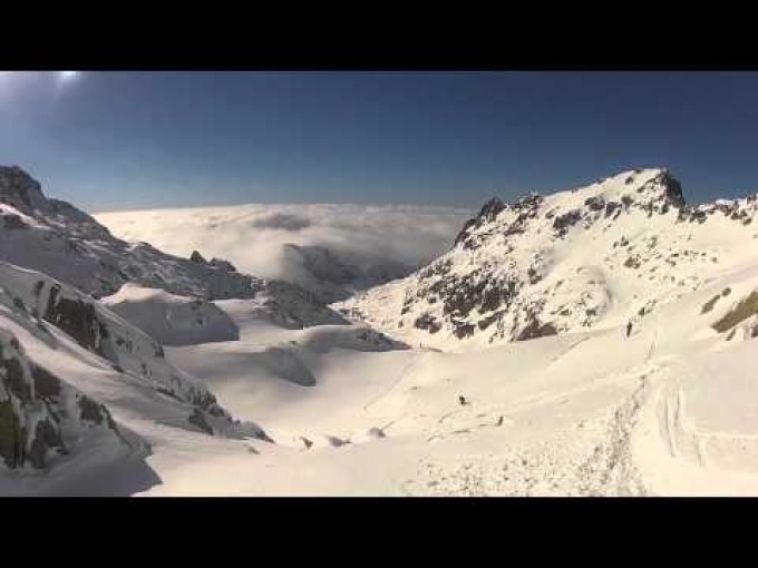 Raid à skis en Corse  : la fameuse Alta Strada