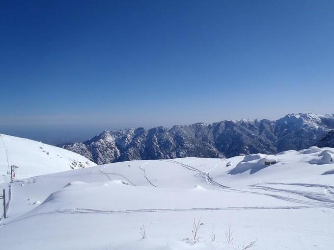 Ouverture de la station de ski de Ghisoni
