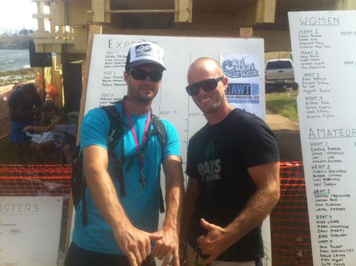 Nico Cailly à Hawai, de nouvelles images !