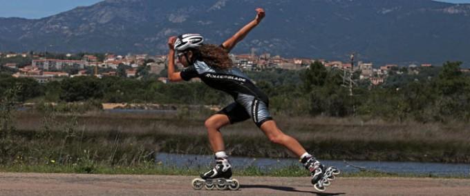 Tour de Corse en roller : interview d'Aurélia Randazzo