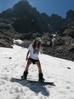 Rentrée 2011 - Ski d'été en Corse