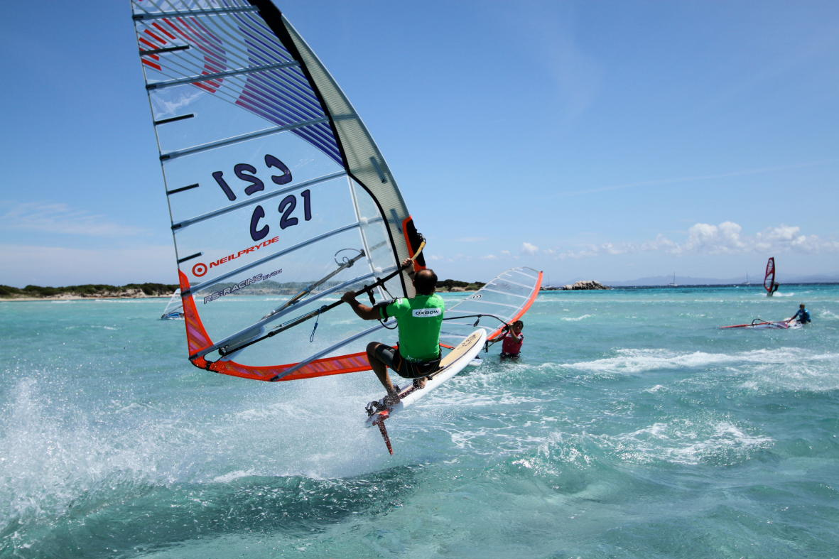 Speed Challenge Bonifacio Windsurf 2011